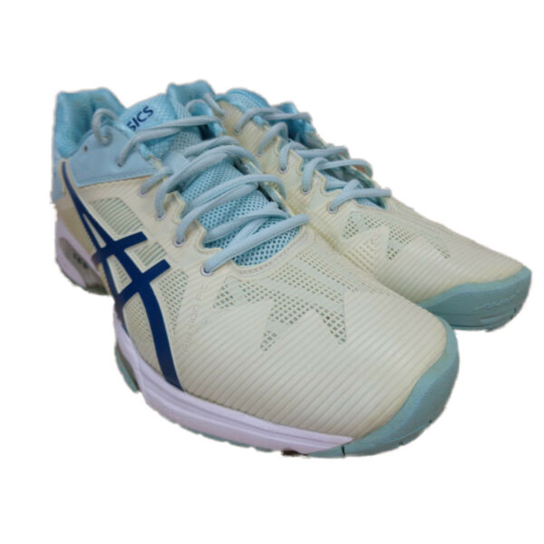 Asics Gel Solution Speed 3 Womens Tennis Shoe EU 43.5 US 11 (E650N)