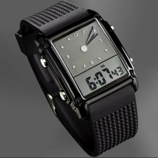 SKMEI Men#x27;s Digital Army Military Sport Quartz Analog Chrono Waterproof Watch US