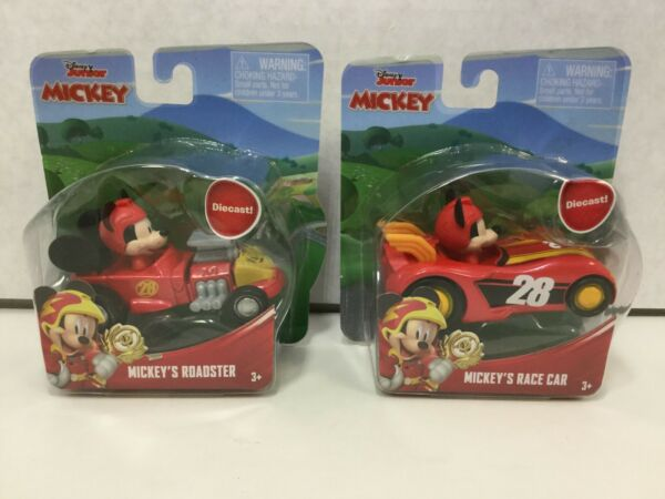 Fisher-Price Disney Junior Mickey & the Roadster Racers Mickey's Roadster 2PK