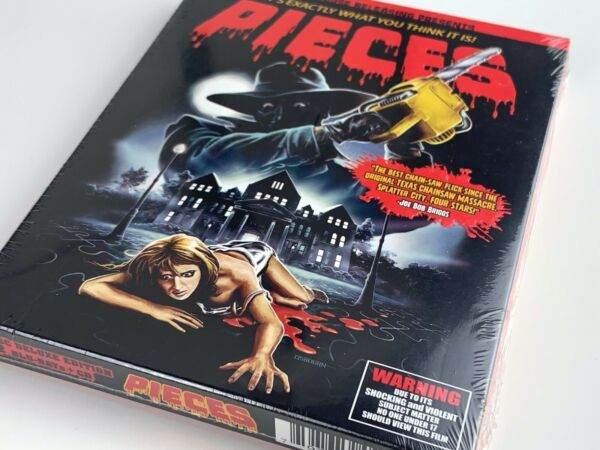 PIECES BLU RAY - NEW - GRINDHOUSE