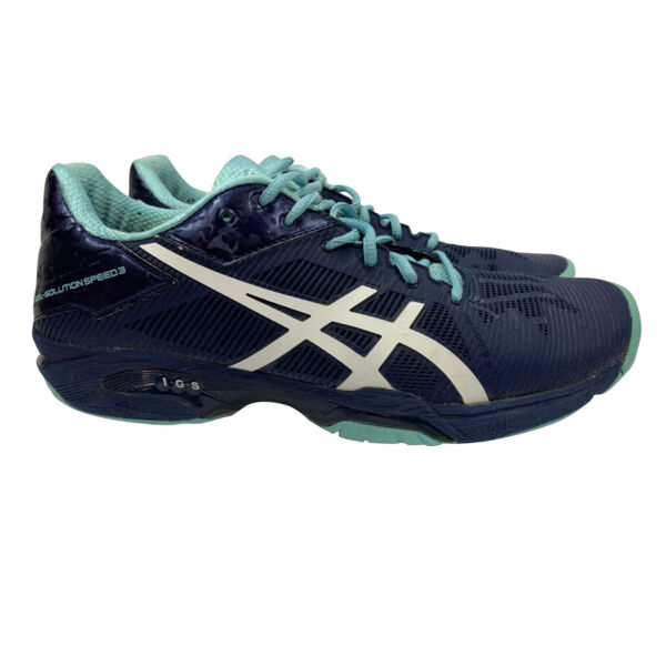 Asics Gel Solution Speed 3 Women's Tennis Shoe EU 42 US 10 (E650N)