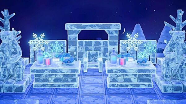Ice Bar outdoor furniture Set 60 Pc New Horizons $12.45