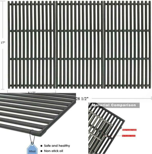 Cooking Grates for Charbroil Commercial Cast Iron Grill Girds 17quot; x 28 1 2quot;