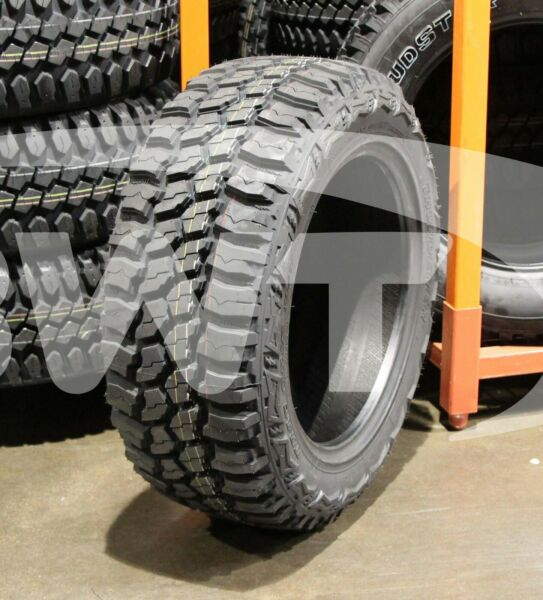 4 New 33X12.50 20 Thunderer TRAC GRIP M T MUD 12.50R R20 Tires
