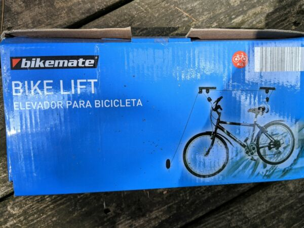 Bikemate Bike Lift Hoist gets your bike securely up and out of the way $9.99