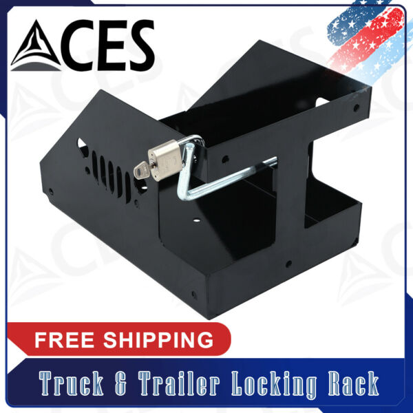 For Truck amp; Trailer 5 Gallon Poly Gas Can Landscape Locking Rack $51.66
