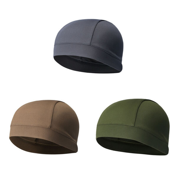 Skullcap Running Cap Riding Hat Outdoor Covers Breathable Durable $1.04