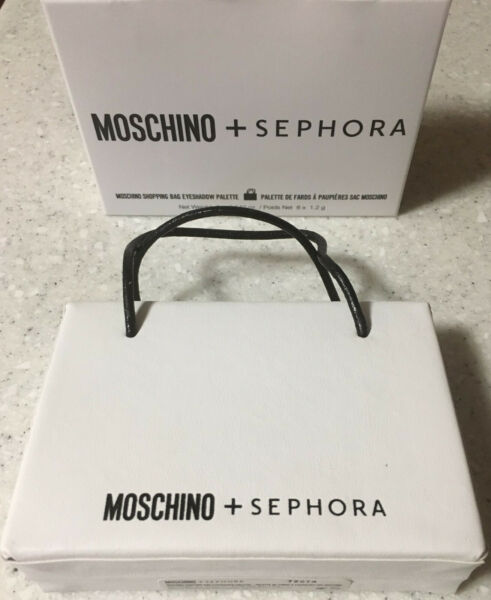 NIB MOSCHINO Sephora Shopping Bag Eyeshadow Palette 6 Shades Metallic amp; Matte $19.99