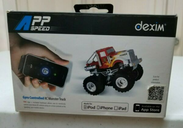 APP SPEED DEXIM GYRO CONTROLLED RC MONSTER TRUCK