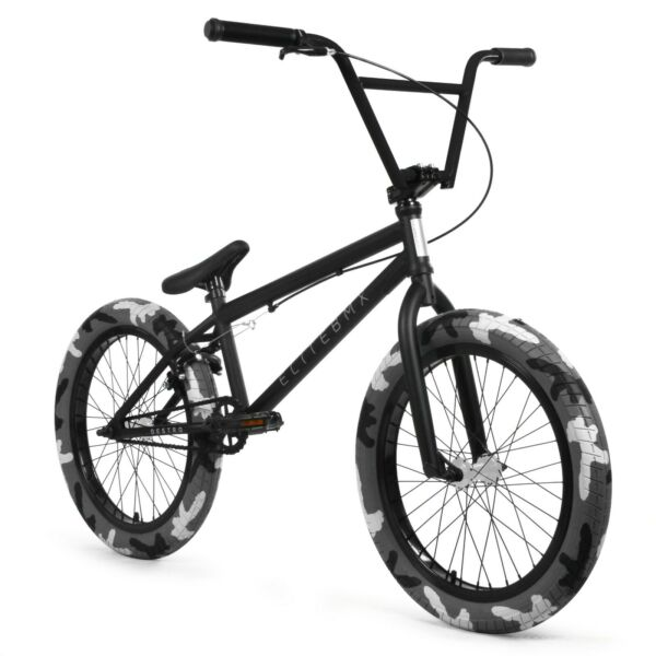 Elite BMX 20quot; Destro Bicycle Freestyle Bike 3 Piece Crank BLACK CAMO $359.00
