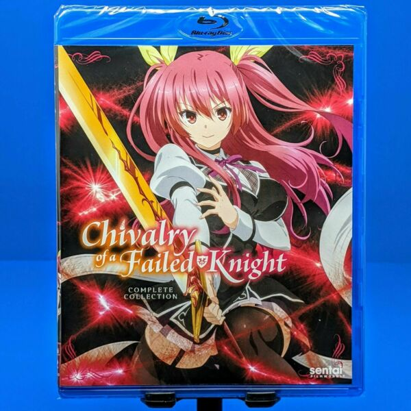 Chivalry of a Failed Knight Blu ray Complete Anime Series Collection