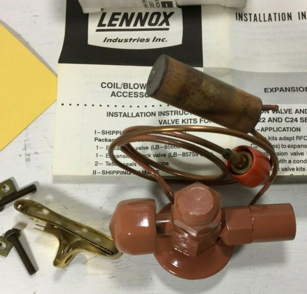 LENNOX 3 TON THERMAL EXPANSION VALVE KIT # 43J75 FITS ALLIED ARMSTORNG CONCORD $35.59