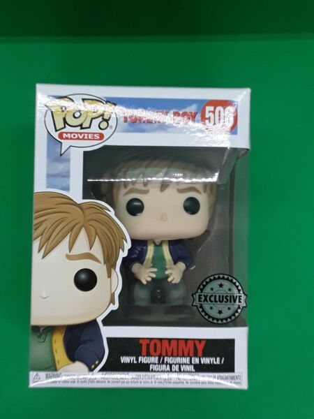 POP VINYL FUNKO FIGURE MOVIES TOMMY BOYS FIGURE 506 STICKERED EXCLUSIVE GBP 13.00
