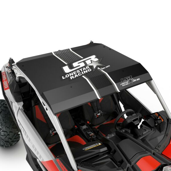 Can Am Lonestar Racing Aluminum Roof for Maverick X3 Black 715005507 $734.99