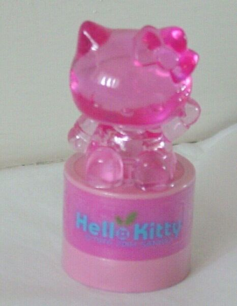 New Sanrio Hello Kitty Light Up Roller Stamp Pink