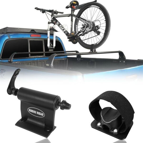 Alloy Bike Bicycle Car Roof Rack Carrier Quick Release Fork Lock Mounted Racks $38.98