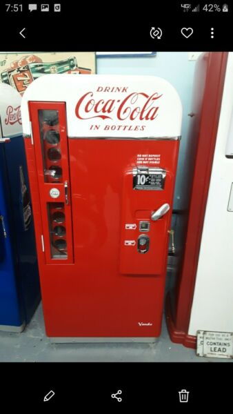 Vendo VMC 81 B 1957 Coca Cola Coke Machine Restorated BEST IN THE USA
