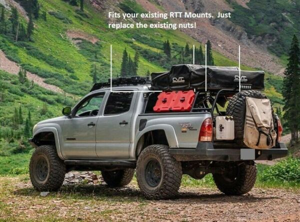 Rooftop Tent Security Nuts TEPUI CVT TUFFSTUFF OVS SMITTYBUILT TONS MORE C $69.99