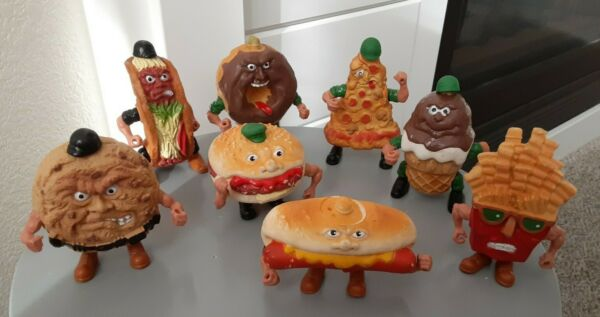 1988 Food Fighters Fries Pizza Hamburger Ice Cream Donut Cookie Hot Dog Taco $229.99