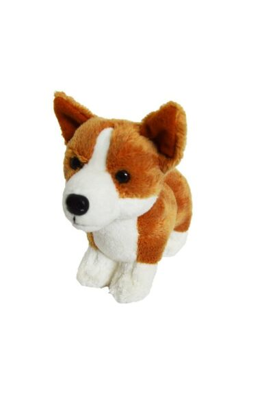 8 Inch Mini Plush Corgi Puppy Dog Brownie Stuffed Animal $9.99