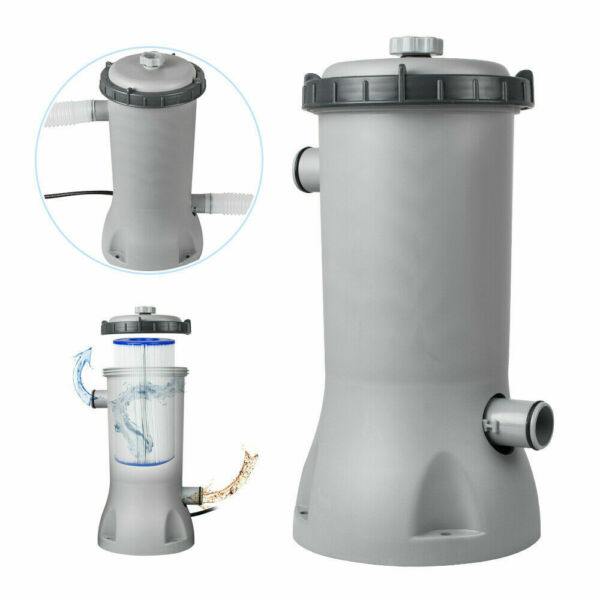 Bestway 530GPH Electric Filter Pump for Above Ground Swimming Pools Cartridge $119.00