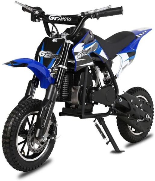49CC 2 Stroke Kids Off Road Dirt Bike Gas Powered Motorcycle Oil Mix Required