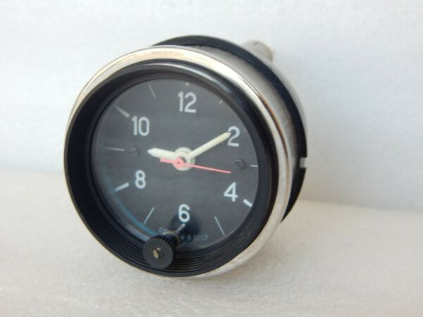 Vintage VAZ NIVA LADA 1500 Quartz Car Clock 12 Volts Working USSR 80#x27;s