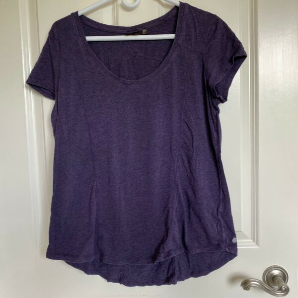 Zella Purple Size XL Work Out Active Athletic Shirt Top Siesta SS $9.99