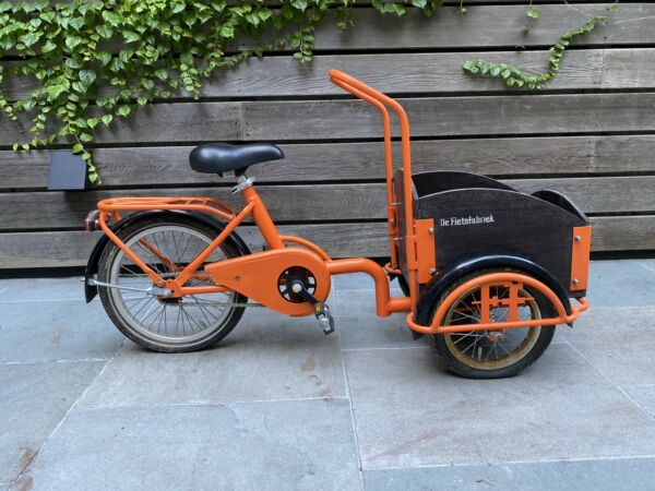 De Fietsfabriek mini bakfiets cargo bike for kids $200.00