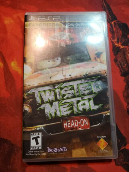 Twisted Metal: Head On Sony PSP 2005 European Version