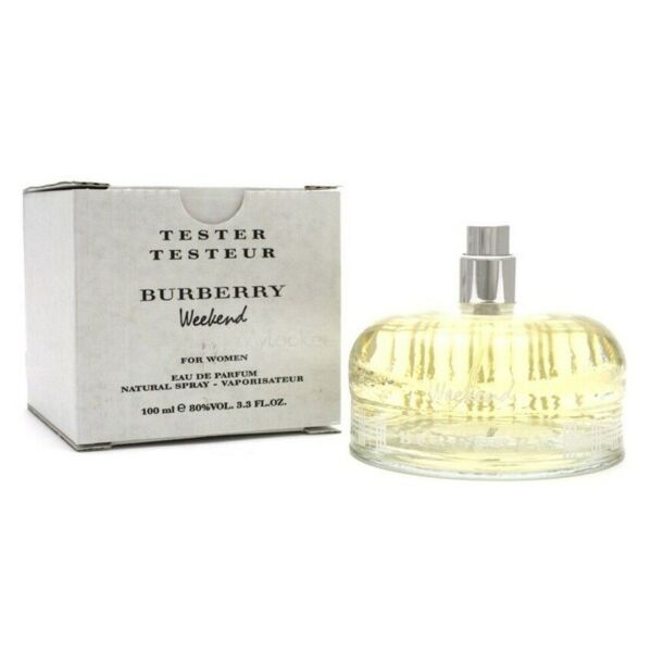 BURBERRY WEEKEND FOR WOMEN EDP SPRAY 3.3 OZ 100 ML AUTHENTIC TESTER FRANCE $29.99