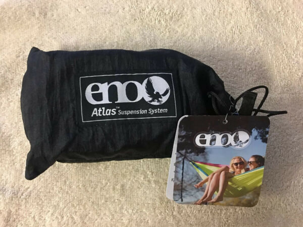 eno atlas hammock straps Suspension System. Black Royal New. $29.99