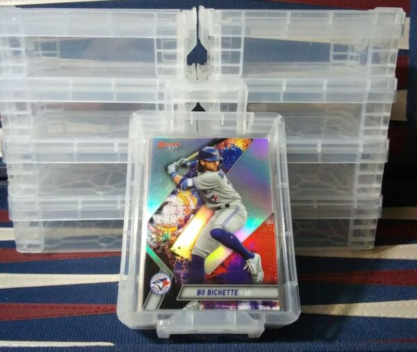 Baseball Card Storage Vaults NEW FOR SLEEVED CARDS HOLDS 50 Stackable