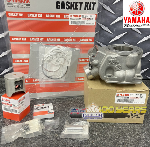 2005 2020 OEM YAMAHA YZ125 TOP END KIT WITH CYLINDER $631.56