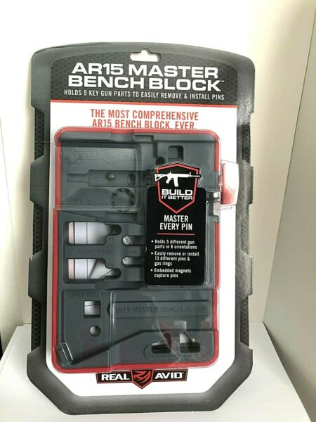 AR 15 MASTER BENCH BLOCK 4 Magnets Outer Non Slip Surface Rugged Sturdy Surface