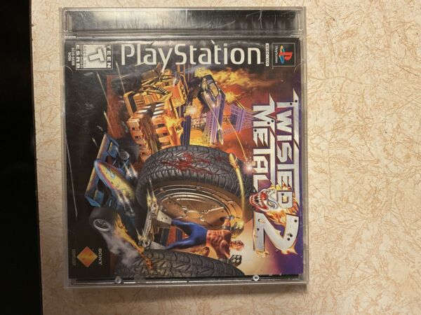 Twisted Metal 2 Sony PlayStation 1 1997