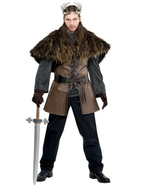 Adult Costume Furry Fur Capelet Shoulder Cape GOT John Snow Game Of Thrones