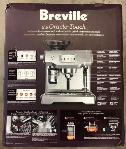 Breville The Oracle Touch BES990 120v Brand New Free Shipping