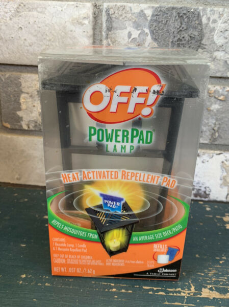 Off Power Pad Lamp Patio And Deck. Lamp 1 Candle 1 Power pad Included In Box $21.42