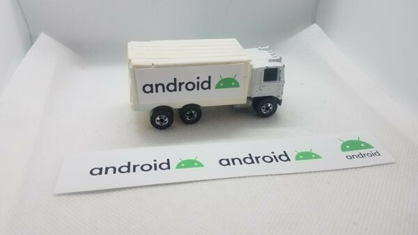 Android set of 3 stickers fits Hot Wheels Hiway Hauler Trailer Custom Trailer A $5.00