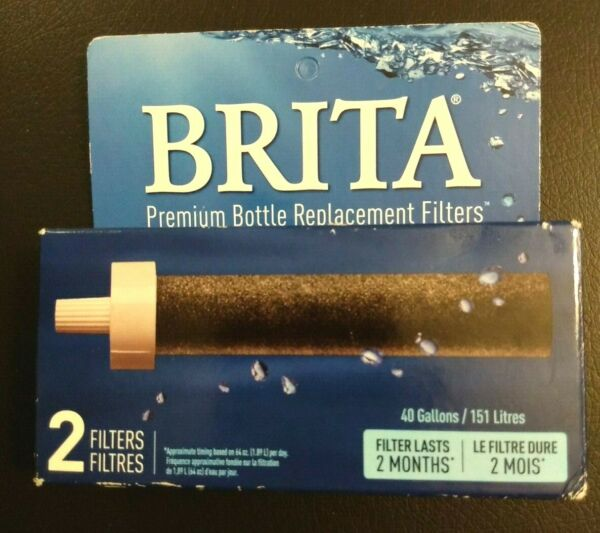 Brita Bottle Replacement Filters 2 Filters