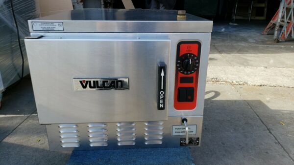 Vulcan C24EA3 BSC Pan Boilerless Connectionless Counter Convection Steamer #m35