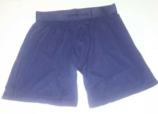 NEW Tommy John Light Air Relaxed Fit Boxer Briefs Dress Blues Size S P