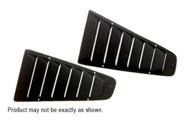 Datsun 280ZX 22 1978 1983 W wipers Open Textured ABS Side Rear Window Louvers $168.88