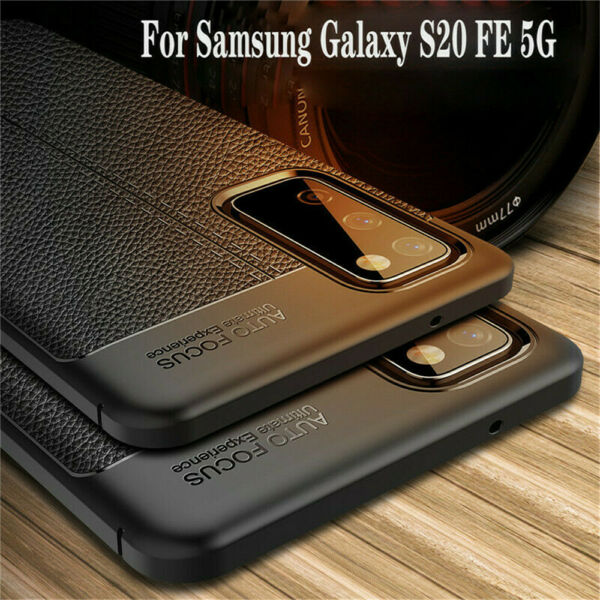 Luxury For Samsung Galaxy S20 FE 5G Slim Rubber Shockproof Silicone Case Cover $8.54