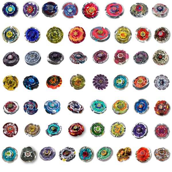 Beyblade Metal Masters Fusion Fury Gyro Spinning Top Rapidity No Launcher