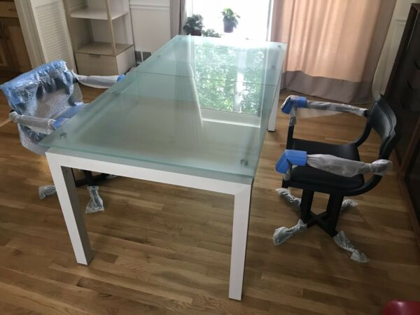 quot;First Glassquot; dining table made by quot;Ligne Rosetquot;