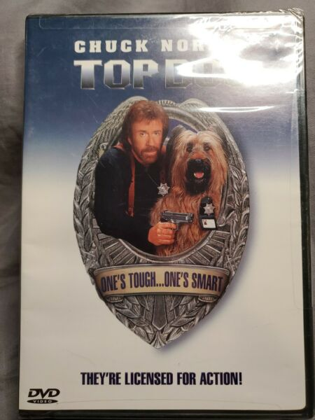 Top Dog DVD 2001 Sensormatic SEALED $1.70