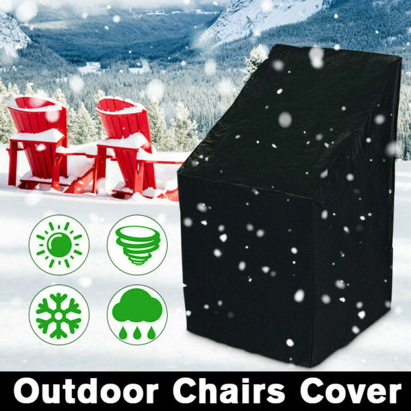 Patio Chair Covers Lounge Seat Waterproof Outdoor Garden Lawn Furniture Cover US