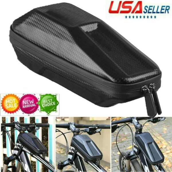 Waterproof Bike Bag Bicycle Top Tube Front Frame Phone Holder Case Cycling USA $13.99